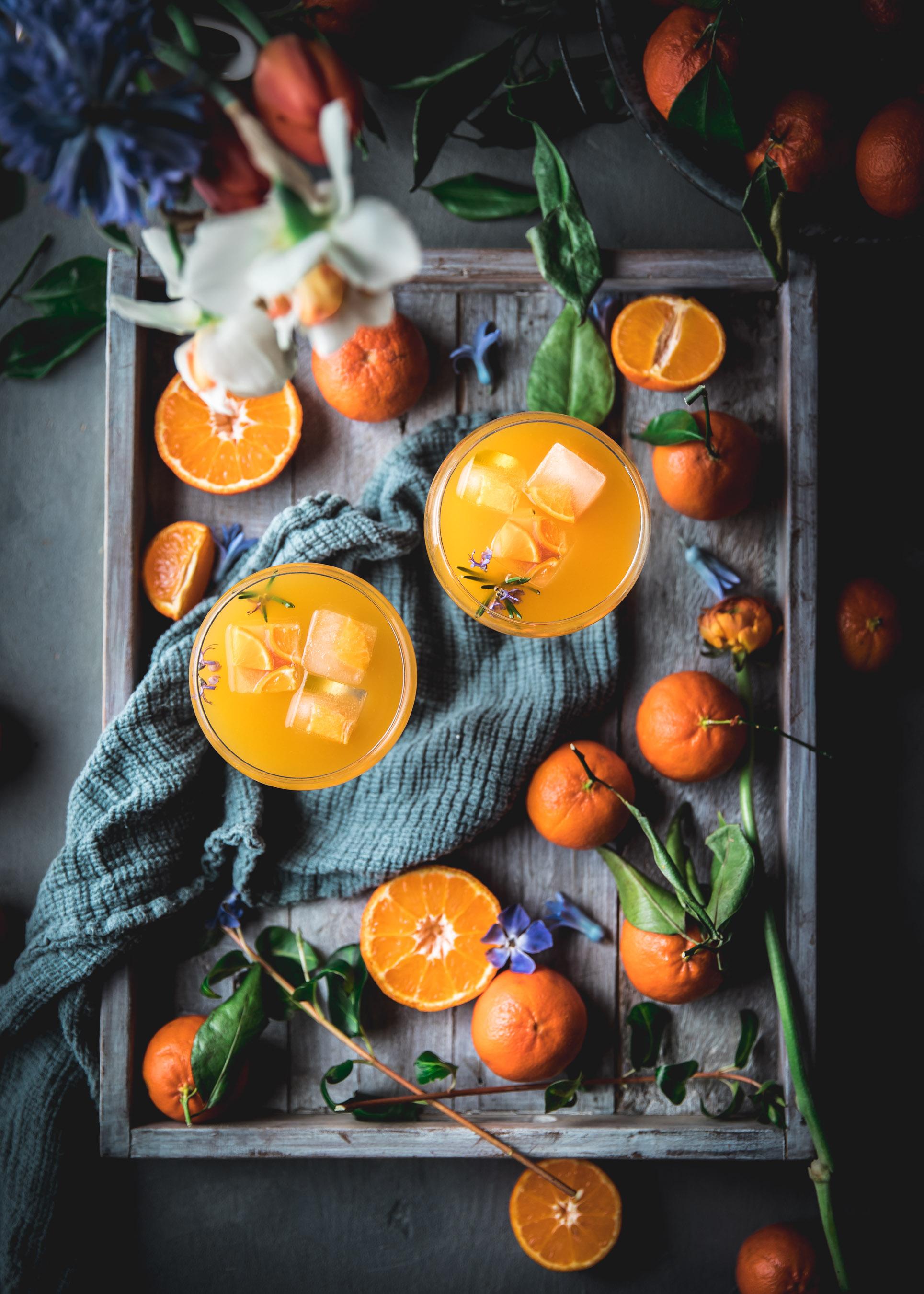 Tangerine Whiskey Sour