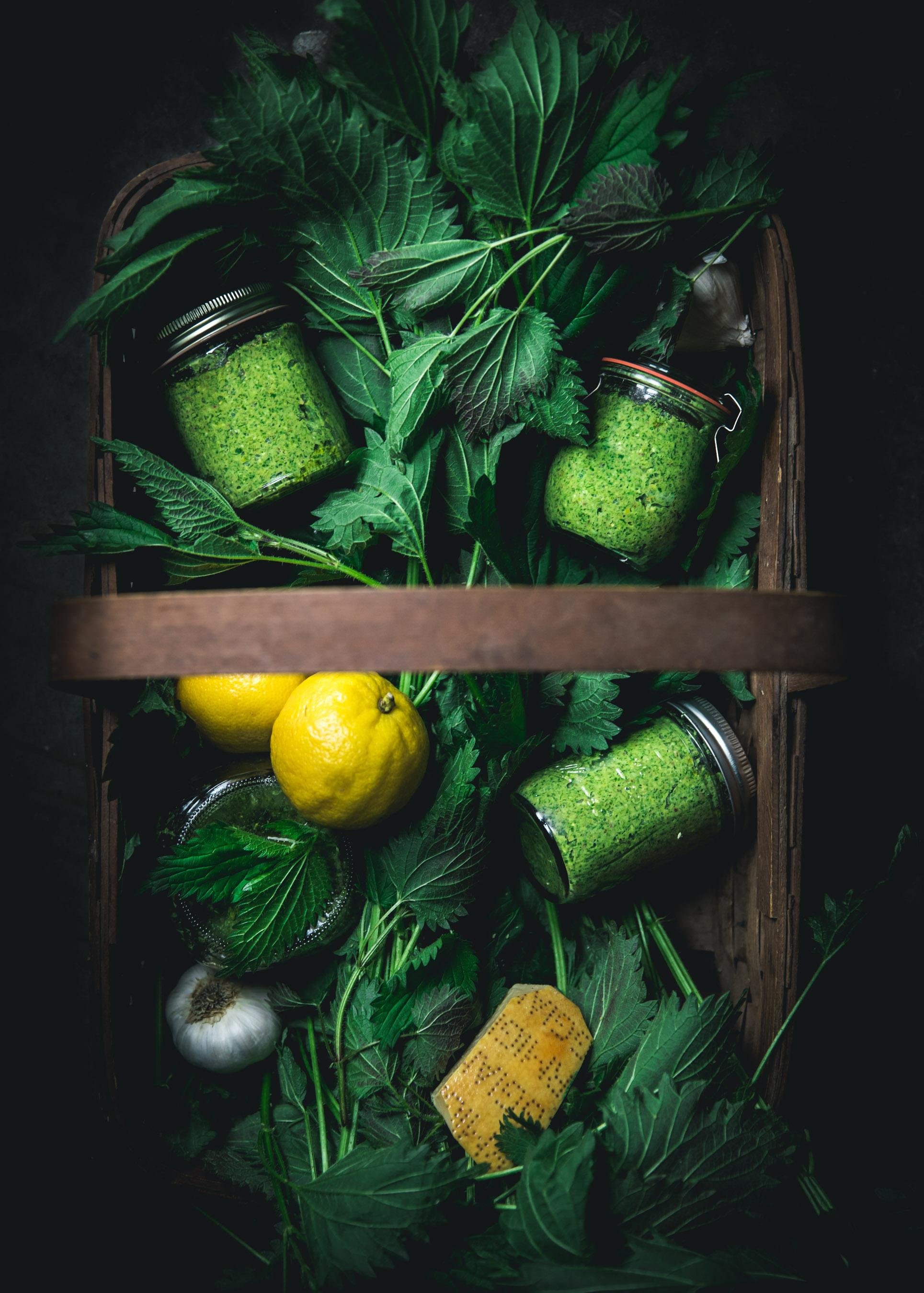 Pistachio Nettle Pesto