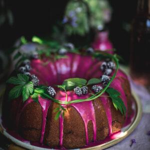 Blackberry Coffee Cake Bundt Cake