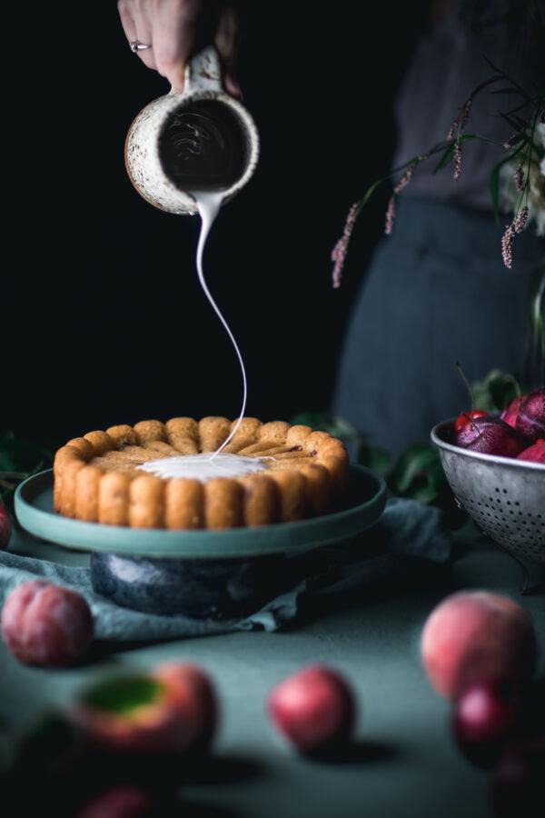 Plum Cake Charlotte